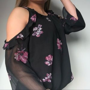 Dynamite Shoulder Blouse